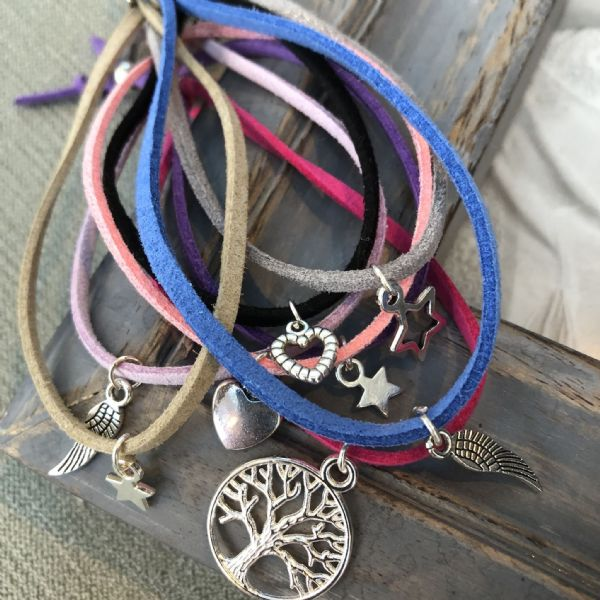 Double wish bracelet set - sharing hugs